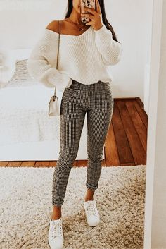 122 perfect fall outfits for college page 10 decor homydepot com 50 chic and casual winter outfits for teen girls back to school page 7 of 50 Cute Comfy Outfits, Cute Summer Outfits, Simple Outfits, Stylish Outfits, Cute College Outfits, Back To School Outfits, Girly Outfits, Winter Fashion Outfits, Look Fashion