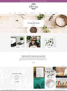 Minimal Web Design, Graphic Design, Website Themes, Website Ideas, Free Website Templates, Newsletter Design, Wordpress Theme Design, Blog Design, Creative