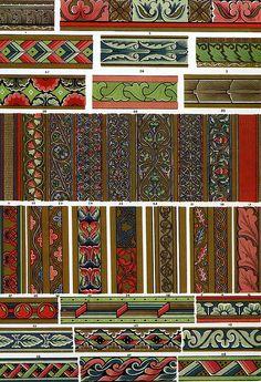 Owen Jones 'Middle Ages ornament' 1856 by Design Decoration Craft