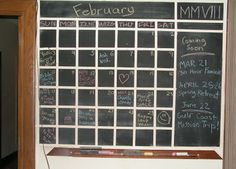 how to make an interactive calendar