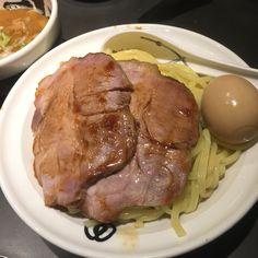 上野 麺屋武蔵武骨相傳 武蔵つけ麺 白味噌 ¥1030 2016.03
