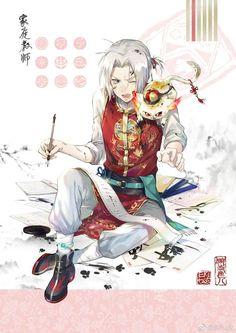 Gokudera and Uri Hitman Reborn, Reborn Katekyo Hitman, All Anime, Anime Guys, Manga Anime, Anime Art, D Gray Man, Mafia, Sakura Mochi