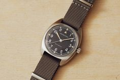 This Affordable New Military Watch Is Even Better Than the Vintage Original Hamilton Khaki Pilot, Hamilton Khaki Field, Modern Watches, Cool Watches, Watches For Men, Vintage Military Watches, Hamilton Jazzmaster, Small Case, Nato Strap