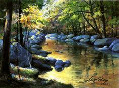 The Official Jim Gray Gallery Website Jim Gray April Relections