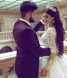 U n me Plls bani dnt leave me😭😭😭😭😭😭🙏 Wedding Pics, Wedding Couples, Wedding Bride, Wedding Gowns, Dream Wedding, Bridal Hairdo, Bridal Crown, Princess Wedding Dresses, Bridal Dresses
