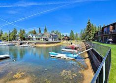 3BR/3BA Tahoe Keys Condo, Private Boat Dock, Waterway Views, Sleeps 10 - Turnkey Vacation Rental