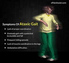 What Can Cause Ataxic Gait or Gait Ataxia? Read: http://www.epainassist.com/brain/ataxic-gait