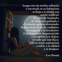 Sentenciada a sufrir #FrasesdeLeoPavoni #LeoPavoni #Reflexionesdeleopavoni