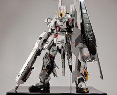 GUNDAM GUY: MG 1/100 FA-93HWS Nu Gundam Ver Ka - Customized Build
