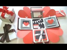 Sweetheart Surprise Explosion box by Srushti patil | Inspired by Brasel Seng…