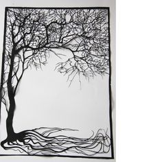I'm very inspired by paper cuts, and this artist has lots of gorgeous examples. Go dig around.