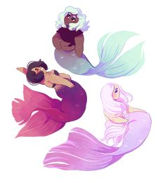 (whispers) mermaids mermaids mermaids…  sticker sheet