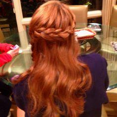 Sis did my hair