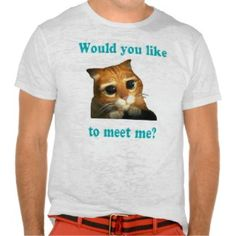 "Remera ""Would you like to meet me?"""