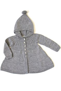 Karys Coat - Cloud Grey