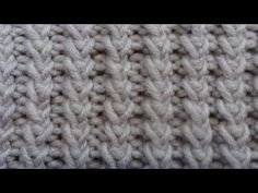 Double Tweed Knit Stitch - YouTube