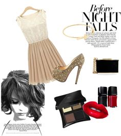 """""""nights"""" by marsx ❤ liked on Polyvore"""