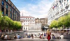 Gallery of Foster + Partners' Milan Apple Store to Feature Public Plaza and Waterfall Entrance - 2