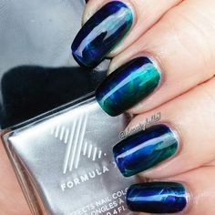 Layer on these deep colors for an ultra dramatic ombré finish. Discover the impressive Formula X Infinite Ombré Nail Design Set through this video tutorial.