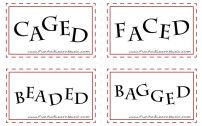 website with heaps of free printable resources. Good for independent learning.