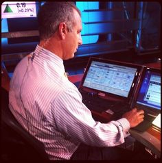 Behind the Scenes @cnbcfastmoney with Guy Adami!