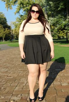 Plus Size OOTD: Work Day to Date Night #fatshion