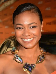 Tatyana Ali, 33  Who didn't want to be Ashley Banks from the 90s sitcom also starring Will Smith, The Fresh Prince of Bel-Air? Tatyana has been in the acting game for a while and still looks as beautiful as ever! The half-Panamanian actress and Harvard grad is definitely the complete package.