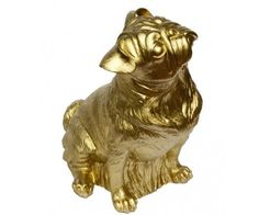 Too bad it's plastic and not a solid gold pug!