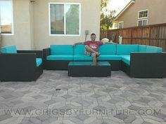 Our Products  >>  Chill Lime Sectional  Chill Lime Sectional  Be the first to write a review    Chill Lime Patio Sectional 7pc         Chill Lime 7pc. Outdoor Sectional Set           This outstanding outdoor sectional set is perfect when entertaining or for everyday relaxation. The Chill Lime sectional set can be moved or adjusted in many configurations, including moving seats apart for separate chairs or putting them together for an intimate sofa seating. The sophisticated modern outdoor…