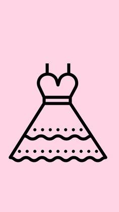 Capas para destaque de stories/highlights no Instagram. Pink Instagram, Instagram Story, Illustration Sketches, Illustrations And Posters, App Icon Design, Logo Design, Cute App, Mini Drawings, Insta Icon