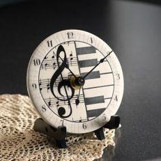 Ceramic Musical Clock