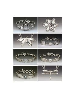 Silver Spoon Jewelry . . . from Roses and Teacups . . . takes repurposed silverware to a different level . . .
