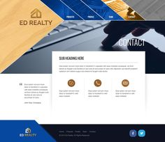 Design website for a professional investment agency. by 72dpi Creative