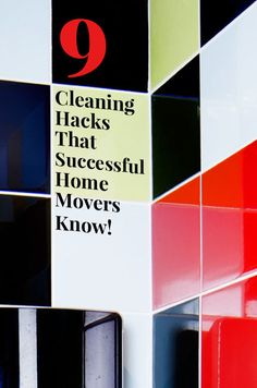 9 Cleaning Hacks That Successful Home Movers Know! Moving into a new place and need to give it a deep-clean? Here are the tips and tricks that really work for those often-neglected spots. If you've just moved into a new house, the first thing you'll