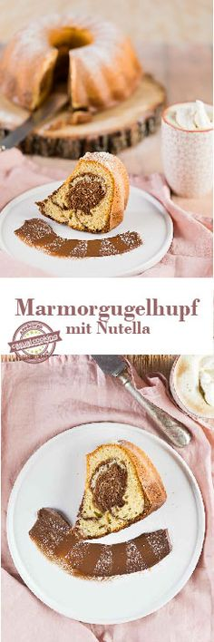 Marmorgugelhupf mit Nutella Nutella Kuchen casual cooking österreichischer food blog French Toast, Sweets, Breakfast, Blog, Nutella Products, Cacao Powder, Baking, Food Food, Sweet Pastries