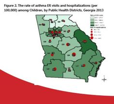 Asthma Treatment Rates in Georgia