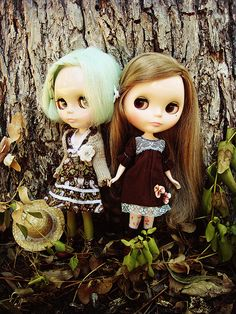 Miss B and Miss P by maidensuit, via Flickr