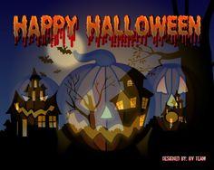 Image detail for -Un excelente wallpaper de: Halloween : Tamaño 1600*1200.