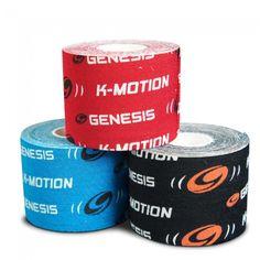 Genesis K-Motion Uncut Kinesiology Tape Rolls