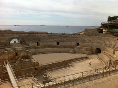 Roman amphitheatre of Tarragona dates back to the 2nd century AD. The whole place could house up to 13.000 spectators, they have been reconstructed to its original state. This was the place for the gladiators and for the hunt of wild animals.