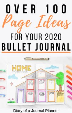 Read here for a HUGE list of bullet journal collection ideas! With everything from self care, books to read, ideas for moms and more! #bulletjournal #bulletjournalcollection #bujo #planneraddict #bulletjournalideas