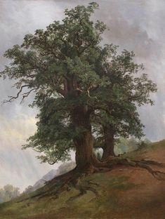 Old oak, 1866, Ivan Shishkin