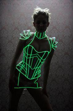 glow in the dark fashion
