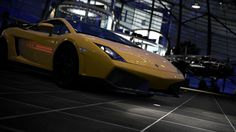 Gallardo playstation 3 red bulls hangar cars (1920x1080, playstation, red, bulls, hangar, cars)  via www.allwallpaper.in