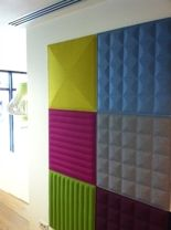 BuzziSkin 3D Tile - Acoustical Wall Panel, on Designer Pages