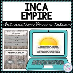 Inca Empire Interactive Google Slides™ Presentation is the Perfect reading comprehension activity during distance learning! The presentation focuses on Inca Empire, Francisco Pizarro and Machu Picchu. This ancient history social studies activity is self checking and interactive! Use when introducing or reviewing Inca Empire w/ upper elementary and middle school students. #ancienthistoryactivities #4thgrade #5thgrade #6thgrade #7thgrade #8thgrade Social Studies Activities, History Activities, Upper Elementary Resources, Growth Mindset Posters, Inca Empire, Reading Comprehension Activities, Machu Picchu, Ancient History, Middle School