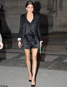 Olivia Palermo. Fashion Week Paris 2012