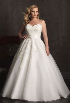 Vestidos para bodas para gorditas ¡14 Propuestas Maravillosas!