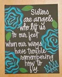 Love my sister.sisters-in-law.and the sisters I've found through the years Love You, Just For You, My Love, Love My Sister, Brother Sister, Lil Sis, Sorority Crafts, Birthday Quotes, Birthday Wishes