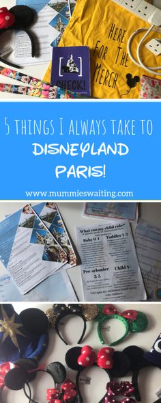 5 things I always take Disneyland Paris! Disney Resorts, Disney Vacations, Disney Trips, Disney Parks, Disney Travel, Trips To Disneyland Paris, Disneyland Food, Travel With Kids, Family Travel